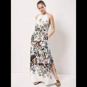 Gorgeous Massimo Dutti halter dress size 8, NWT